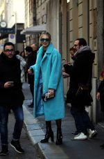 Chiara Ferragni Out for lunch in Milan