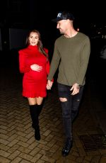 Chloe Goodman Out with her boyfriend QPR captain Grant Hall