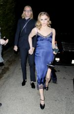 Chloë Grace Moretz Arriving at the WME Pre-Oscars Party in Hollywood