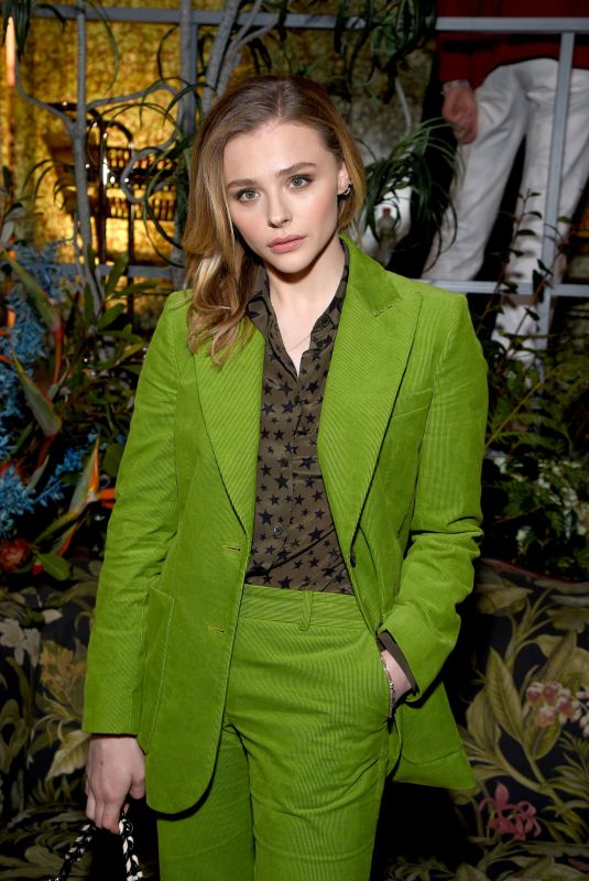 Chloe Grace Moretz At Birkenstock 1774 Collection Launch Party in Los Angeles