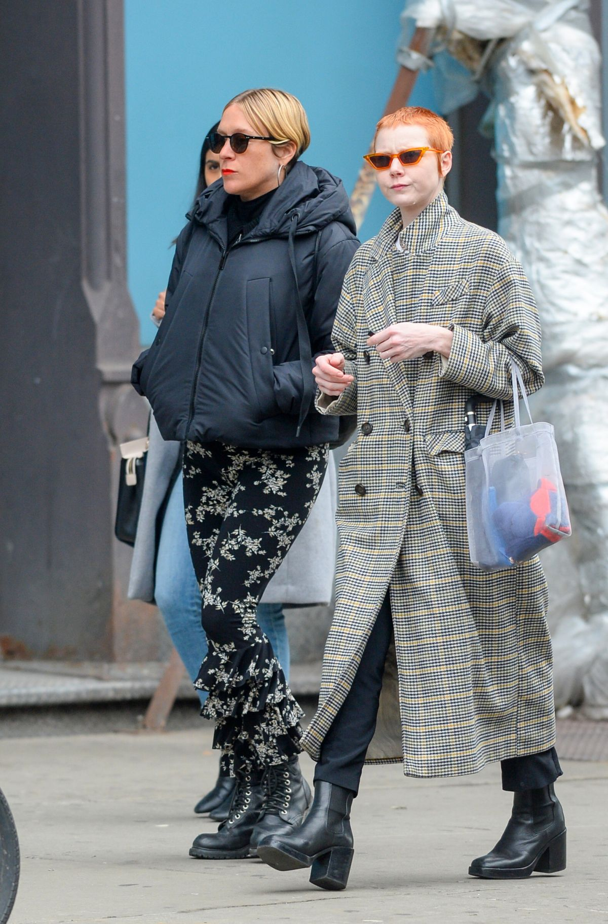 Chloe Sevigny Shows Her Baby Bump While Out On A Stroll