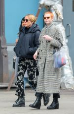 Chloe Sevigny Shows Her Baby Bump While Out on a Stroll with Friends in New York City