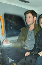 Chris Hemsworth and Elsa Pataky leaving Annabel