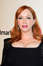 Christina Hendricks At Elton John AIDS Foundation Oscar Viewing Party in West Hollywood