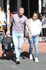 Christina Milian Out for lunch in West Hollywood