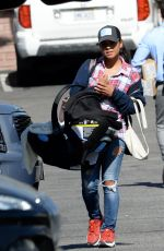 Christina Milian Out in Los Angeles
