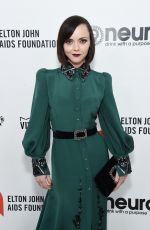 Christina Ricci At Elton John AIDS Foundation Oscar Viewing Party in West Hollywood