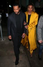 Ciara and husband Russell Wilson enjoy a dinner date at