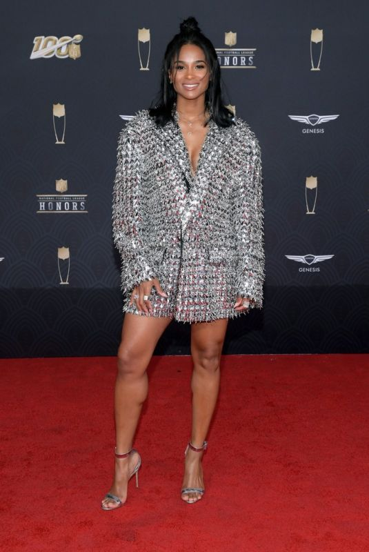 Ciara At 9th Annual NFL Honors in Miami