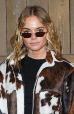 Claire Rose At Michael Kors Collection Fall/Winter 2020 Runway Show - February 2020 during New York Fashion Week