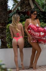 Claudia Romani and Cloe Greco are spreading the love for Valentine