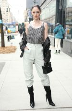 Coco Rocha Attends Longchamp during New York Fashion Week in New York City