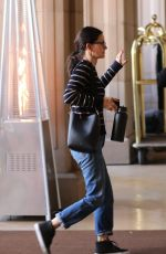 Courteney Cox Arriving at the Montage Hotel in Beverly Hills