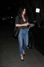 Courteney Cox Out running errands on Melrose Place
