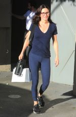 Courteney Cox Out shopping on Melrose PL inWest Hollywood
