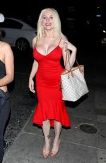 Courtney Stodden Bares it all as she attends a friend