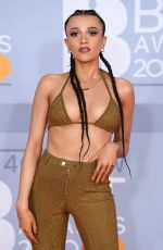 Daisy Maskell At 40th Brit Awards, Arrivals, The O2 Arena, London