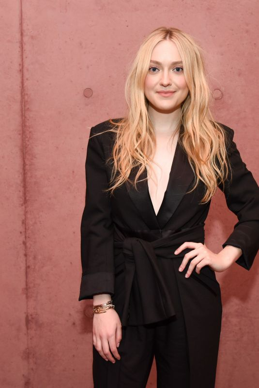 Dakota Fanning At The Webster store opening in Beverly Hills