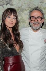 Dakota Johnson At Gucci celebrates the opening of Gucci Osteria da Massimo Bottura in Beverly Hills