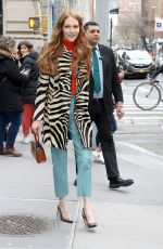 Darby Stanchfield Arrives at the Build Series to promote Locke & Key in New York