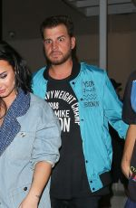 Demi Lovato Leaving the E11EVEN nightclub in Miami