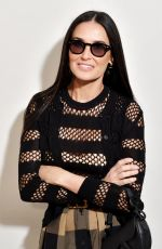 Demi Moore At Dior fashion show in Paris