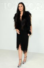 Demi Moore At Tom Ford AW20 Show in Hollywood