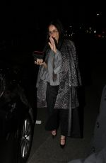 Demi Moore Heads out after attending Sara Foster