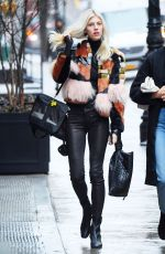 Devon Windsor Is all style while out in SoHo in New York City