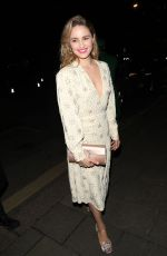 Dianna Agron Arriving at the Vogue x Tiffany Fashion & Film after party