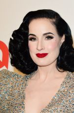 Dita Von Teese At Elton John AIDS Foundation Oscar Viewing Party, Los Angeles