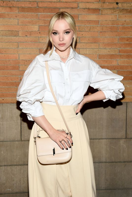 Dove Cameron At ADEAM Fashion Show in NYC