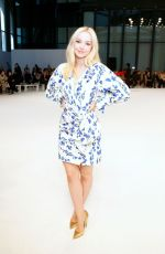 Dove Cameron At Carolina Herrera Fashion Show in New York