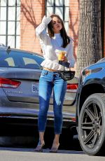Eiza González Out for coffee in West Hollywood