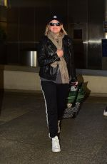 Elisabeth Moss At LAX Airport