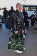 Elisabeth Moss At LAX Airport in Los Angeles