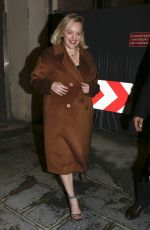 Elisabeth Moss Leaves the screening of the Invisible Man in Paris, France