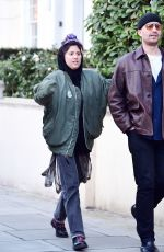 Eliza Doolittle Spotted out with a few friends out in London