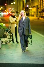 Elle Fanning Takes a late night walk while in town for the 70th Berlin International Film Festival Berlinale in Berlin-Mitte