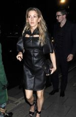 Ellie Goulding Seen at British Vogue and Tiffany & Co. Celebrate Fashion And Film Party at Annabel