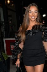 Elma Pazar At Bagatelle for a night out to celebtrate her friends birthday