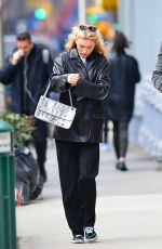 Elsa Hosk Pictured on a solo outing in New York City