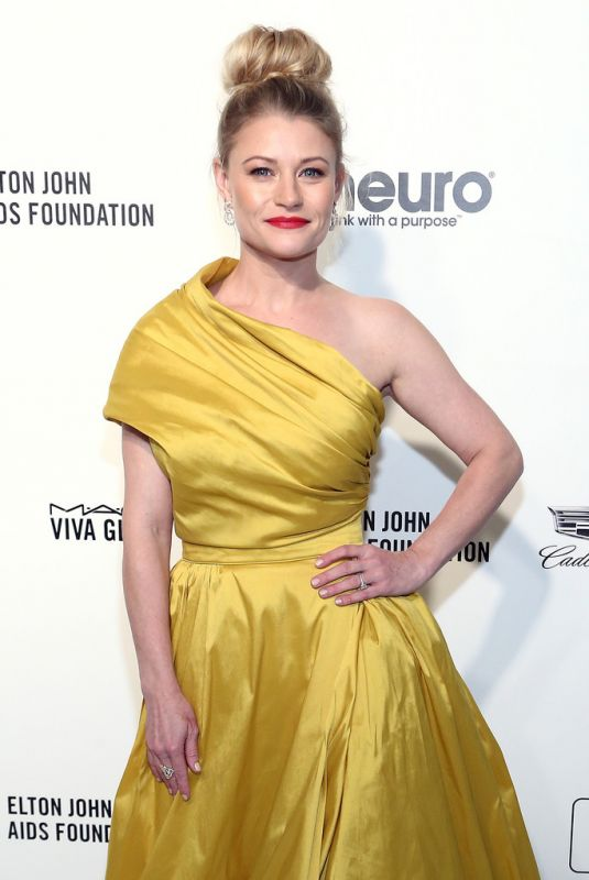 Emilie de Ravin At Elton John AIDS Foundation Oscar Viewing Party in West Hollywood