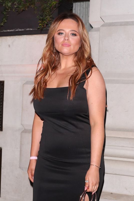 Emily Atack Attending the BRIT Awards after-party at the Ned Hotel in London