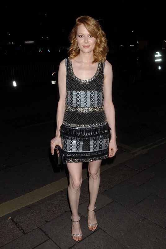Emily Beecham At BAFTA Vogue x Tiffany Fashion and Film afterparty, Annabel