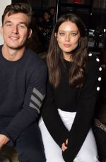 Emily Didonato At Zadig & Voltaire show, Front Row, Fall Winter 2020, New York Fashion Week