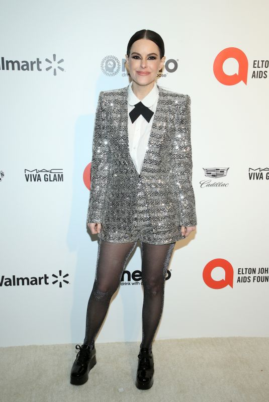 Emily Hampshire At Elton John AIDS Foundation Oscar Viewing Party Los Angeles