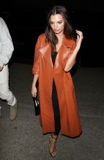 Emily Ratajkowski Arriving at the WME Pre-Oscars Party in Hollywood