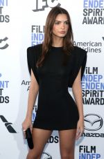 Emily Ratajkowski At 2020 Film Independent Spirit Awards in Santa Monica