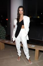 Emily Ratajkowski At Proenza Schouler show at New York Fashion Week